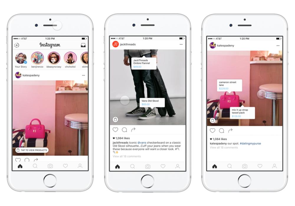 shopping online - come vendere su Instagram