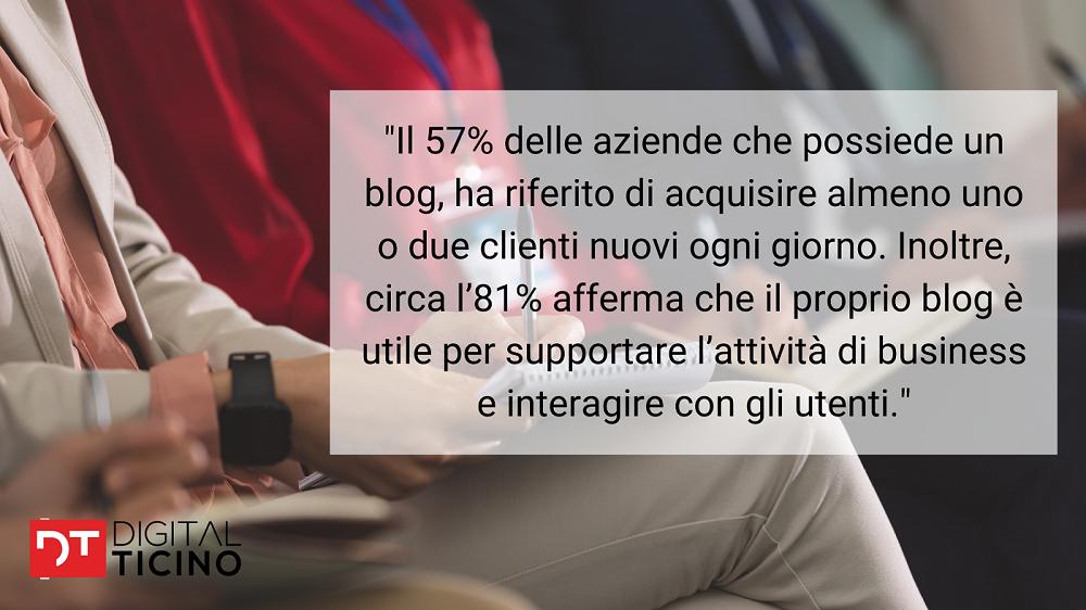 Perché un'azienda deve avere un blog? Questo aiuta ad aumentare le vendite e la visibilità.