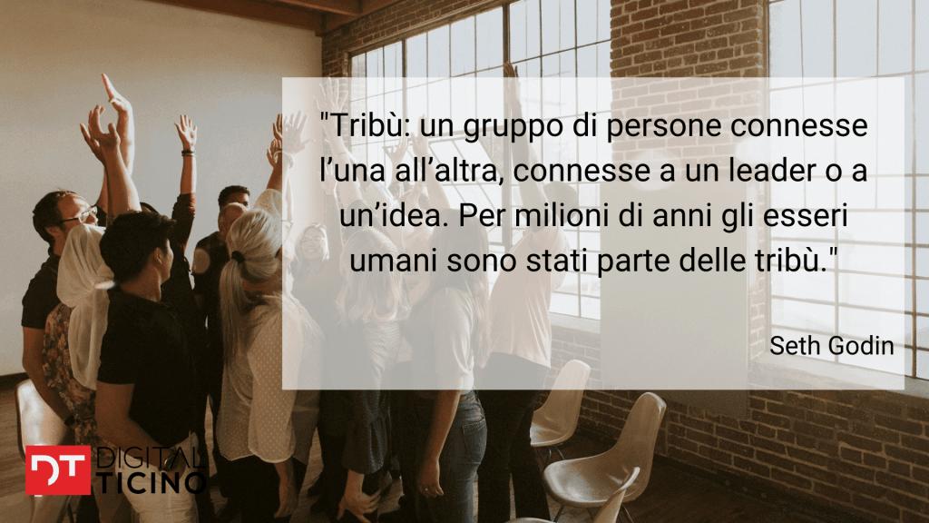 community sui social network - definizione di tribù di Seth Godin